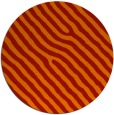 rug #420285 | round red animal rug