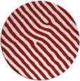 rug #420289   round red stripes rug