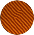 rug #420297   round red-orange stripes rug