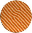 rug #420301 | round red-orange animal rug