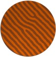 rug #420305   round red-orange animal rug