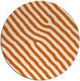rug #420309   round red-orange animal rug