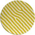 rug #420341 | round yellow animal rug