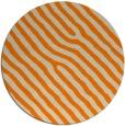 rug #420357 | round orange stripes rug