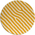 rug #420377 | round light-orange stripes rug