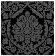 rug #420753 | square black damask rug