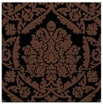 rug #420761   square brown damask rug