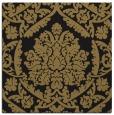 rug #420765 | square mid-brown damask rug