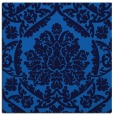 rug #420913 | square blue damask rug