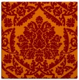 rug #420933   square red-orange damask rug