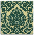 rug #420949 | square yellow traditional rug