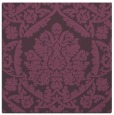 rug #420969   square purple damask rug