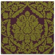 rug #420973 | square purple damask rug