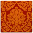 rug #420989 | square red traditional rug