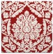 rug #420993 | square red traditional rug