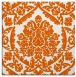 rug #421013 | square red-orange traditional rug