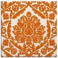 rug #421013 | square red-orange traditional rug