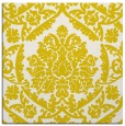 rug #421021 | square white damask rug