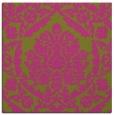 rug #421073 | square light-green damask rug