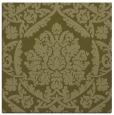 rug #421077 | square light-green traditional rug