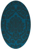 rug #421177 | oval traditional rug