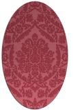 rug #421192 | oval traditional rug