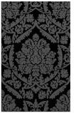 rug #421457    black traditional rug