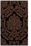 rug #421465 |  brown damask rug