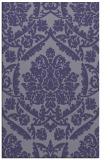 rug #421537 |  blue-violet traditional rug