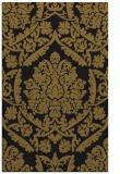 rug #421565 |  black traditional rug