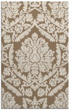 rug #421601 |  mid-brown traditional rug