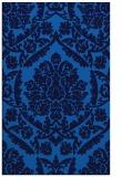 rug #421617 |  blue damask rug