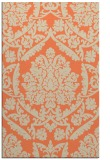 rug #421645 |  orange traditional rug