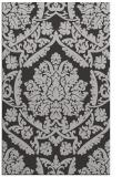 rug #421649 |  red-orange damask rug