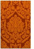 rug #421705 |  red-orange rug