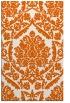 rug #421717 |  red-orange traditional rug