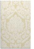 rug #421741 |  yellow traditional rug