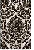 rug #421745    brown damask rug