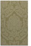 rug #421773 |  light-green damask rug