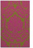 rug #421777    light-green damask rug