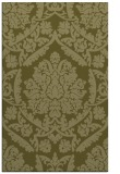 rug #421781 |  light-green damask rug