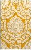 rug #421785    light-orange damask rug
