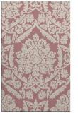 rug #421789 |  pink traditional rug