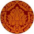 rug #421990   round traditional rug