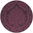 rug #422025 | round purple traditional rug
