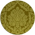 rug #422121 | round light-green rug