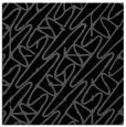 rug #424273 | square black popular rug