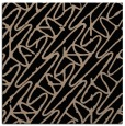 rug #424277 | square black graphic rug