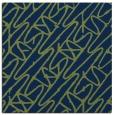 rug #424301 | square blue popular rug
