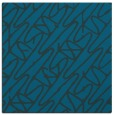 rug #424345 | square blue abstract rug